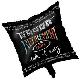 "Chalkboard Retirement Balloon, 18"" (#149)"