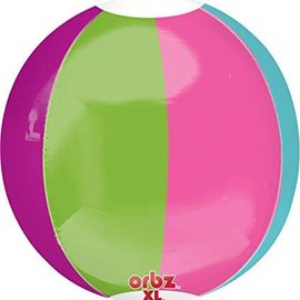 Beach Ball Orbz Balloon, 16""
