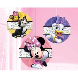 ©Disney Minnie Mouse Happy Helpers Honeycomb Decorations