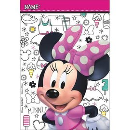 ©Disney Minnie Mouse Happy Helpers Folded Loot Bags - Plastic