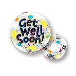 Get Well Bubble Balloon, 22""
