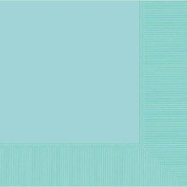 Robin's‑egg Blue 2‑Ply Luncheon Napkins, 50ct