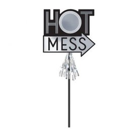 """Deluxe Hot Mess Prop on a Stick 15 3/4"""""""