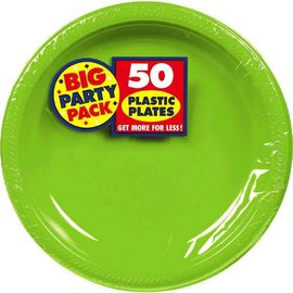 "Kiwi Big Party Pack Plastic Plates, 7"" 50ct"
