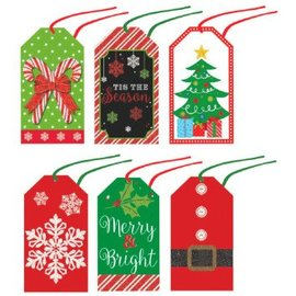 Modern Tape-on Paper Tags-36ct