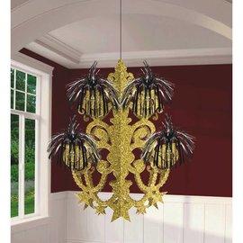 Hollywood Glitz & Glam Firework Chandelier Decoration