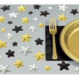 "Hollywood Glitz & Glam Glitter Table Sprinkles               1"" Glitter Foam 32 in a package"