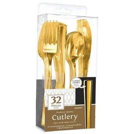 Premium Cutlery Asst. - Gold 32ct