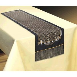 Hollywood Glitz & Glam Fabric Table Runner