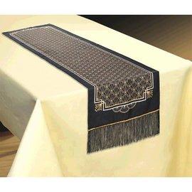 Hollywood Glitz & Glam Fabric Table Runner