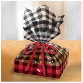 Cozy Large Treat Trays w/Cello Bags-2ct