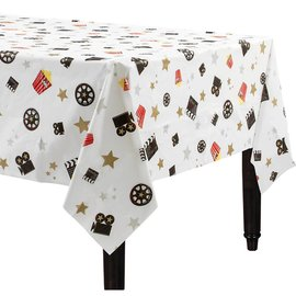 Hollywood Director's Cut Plastic Table Cover - Popcorn