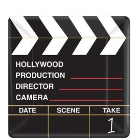 "Director's Cut Square Plates, 7"" 18ct"