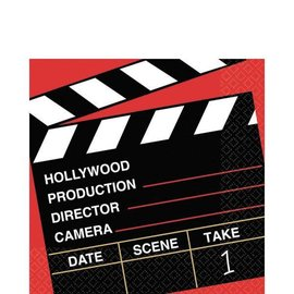 Hollywood Director's Cut Luncheon Napkins 36ct