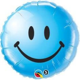 "Smiley Baby Boy Balloon, 18"" (#45)"