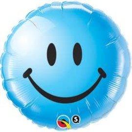 """Smiley Baby Boy Balloon, 18"""""""