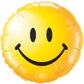 """Smiley Face Balloon, 18"""""""