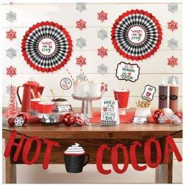 Hot Cocoa Bar Decorating Kit 23pc