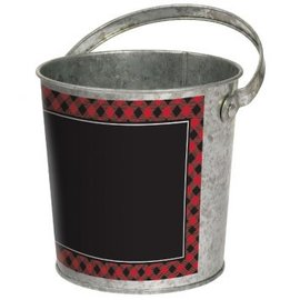 Cozy Cocoa Bucket w/ Chalkboard