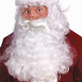 Premium Santa Wig & Beard Set