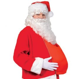 Fabric Santa Belly