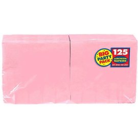 New Pink Big Party Pack Luncheon Napkins 125ct