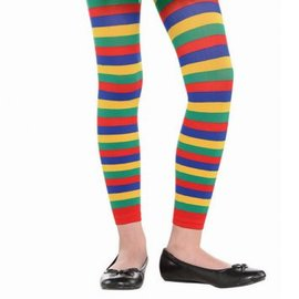 Rainbow Footless Tights - Child