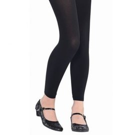 Black Footless Tights - Child