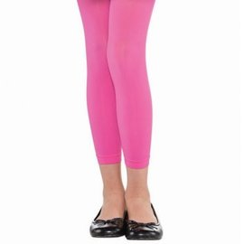Pink Footless Tights - Child