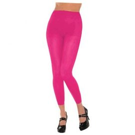 Pink Footless Tights-Adult