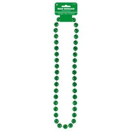Green Jumbo Bead Necklace