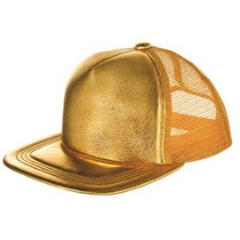 Gold Baseball Hat