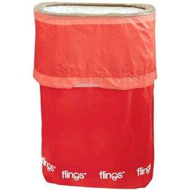 Flings® Bin - Apple Red