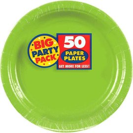 "Kiwi Big Party Pack Paper Plates, 9"" 50ct"