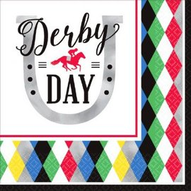 Derby Day Luncheon Napkins 16ct.