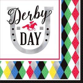 Derby Day Luncheon Napkins 16ct.