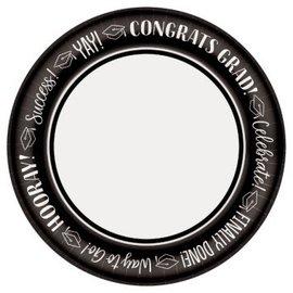 "Celebrate Success Round Plates, 10"" 40ct."