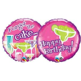 """Happy Birthday Forget the Cake Balloon, 18"""" (#61)"""
