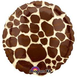 "Giraffe Print Balloon, 18"" (#65)"