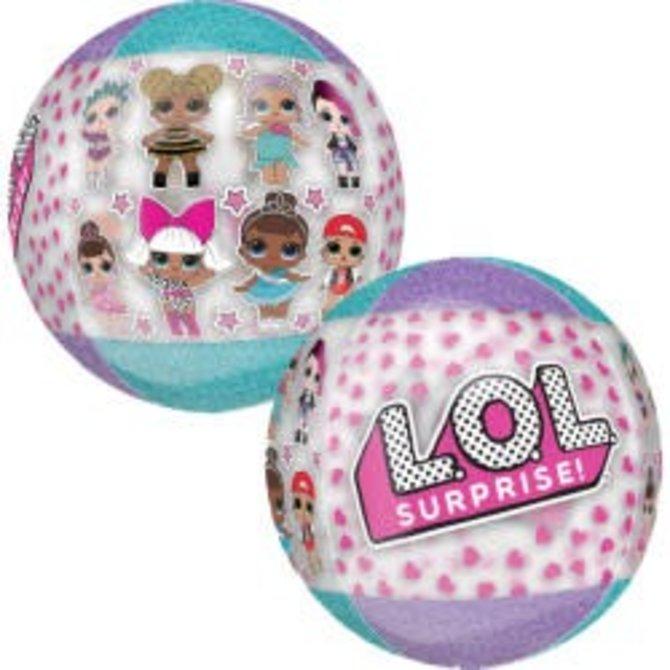 LOL Surprise Orbz Balloon