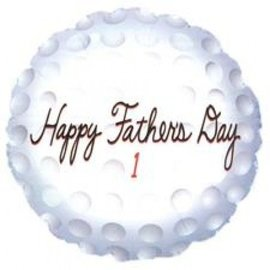 "Happy Father's Day Golf Balloon, 18"" (#70)"