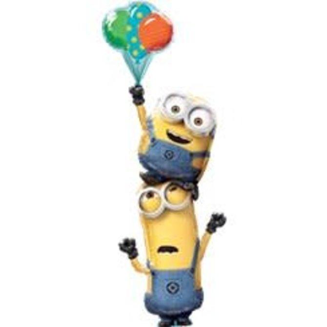 """Minions Stacked Balloon, 60"""""""