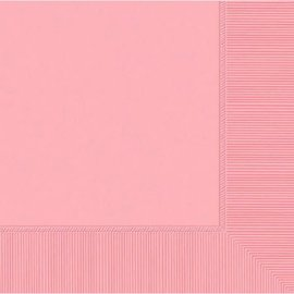 New Pink 3-Ply Luncheon Napkins, 50ct
