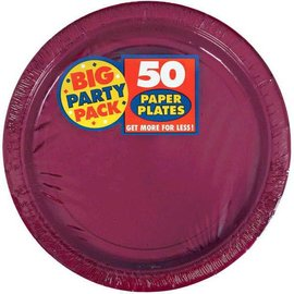 """Berry Big Party Pack Paper Plates, 9"""" 50ct"""