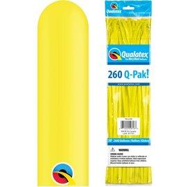 YELLOW 260 Q-PAK BALLOON 50ct.
