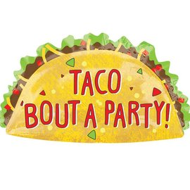 """Taco Bout a Party Balloon, 33"""" (#219)"""