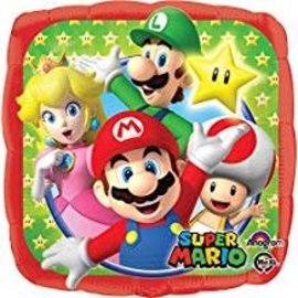 """Super Mario Bros. Balloon, 18"""" (#28)"""