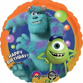 "Monsters University Birthday Balloon, 18"" (#92)"