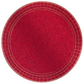 "7"" Prismatic Plate- Apple Red"