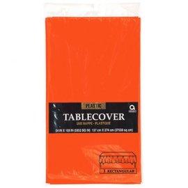 """Orange Peel Rectangular Plastic Table Cover, 54"""" x 108"""""""
